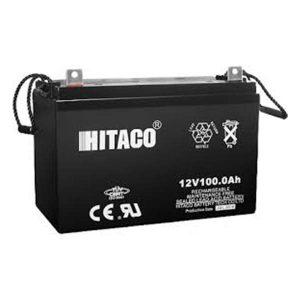 باتری هیتاکو 100 آمپرساعت 12ولت سیلد لید اسید