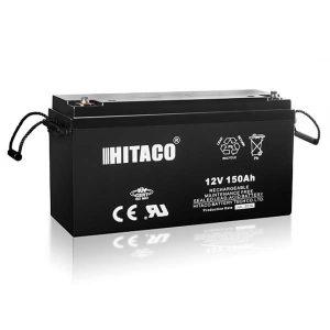 باتری هیتاکو 150 آمپرساعت 12ولت سیلد لید اسید