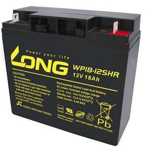 باتری لانگ 12 ولت 18 آمپر ساعت