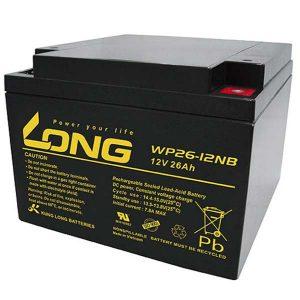 باتری لانگ 12 ولت 26 آمپر ساعت