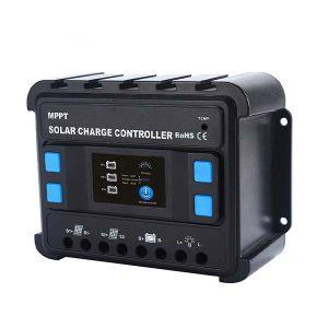 شارژ کنترلر 20 آمپر Carspa مدل MPPT 12-24-20D