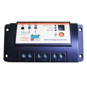 شارژ کنترلر 10 آمپر EP Solar مدل LS1024R