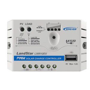 شارژ کنترلر 5 آمپر EP Solar مدل LS0512EU