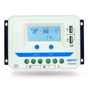 شارژ کنترلر 30 آمپر EP Solar مدل VS3024AU