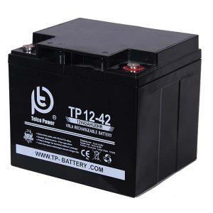 باتری تلکو پاور 12 ولت 42 آمپر ساعت سیلد لید اسید