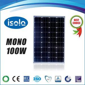 پنل خورشیدی 100 وات OSDA ISOLA مونو کریستال مدل YH100W-18-M