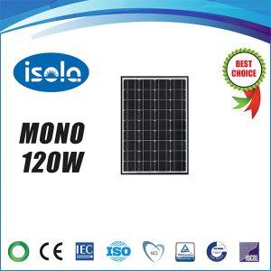 پنل خورشیدی 120 وات OSDA ISOLA مونو کریستال