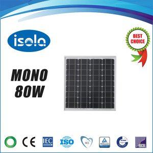 پنل خورشیدی 80 وات OSDA ISOLA مونو کریستال مدل YH80W-18-M